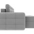 Диван ТриЯ левый «Райс Slim Т1» (Kolibri Silver (велюр) серый) - фото 5