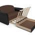 Диван Мебель-АРС Малютка №2 (рогожка шоколад) - фото 6