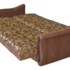 Диван ПромТрейдинг Уют 2 гобелен коричневый 140 ППУ - фото 4
