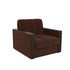 Кресло Мебель-АРС Техас коричневы Luna 092 (микровелюр) - фото 1