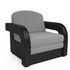 Кресло Мебель-АРС Кармен-2 (рогожка серая) - фото 1