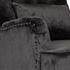 Кресло Garda Decor 24YJ-7004-06437/1 (велюровое серое с подушкой) - фото 3