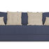 Диван ТриЯ «Бернард» (Neo 14 (рогожка) сиреневый подушка Neo 02 (рогожка) бежевый) - фото 2