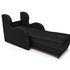 Кресло Мебель-АРС Атлант - черный кожзам - фото 6