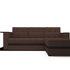 Диван Мебель-АРС Атланта (рогожка шоколад) - фото 1
