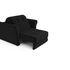 Кресло Мебель-АРС Гранд черный велюр (НВ-178/17) - фото 6
