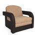 Кресло Мебель-АРС Кармен-2 Кордрой (микровелюр + экокожа) - фото 1