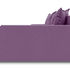 Диван ТриЯ правый «Люксор Slim Т2» (Maserati 18 (велюр), фиолетовый) - фото 3