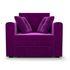 Кресло Мебель-АРС Санта фиолет (микровельвет) - фото 2