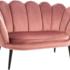 Кресло Signal MAGNOLIA 2 VELVET BLUVEL 52 (античный розовый/венге) MAGNOLIA2V52W - фото 1