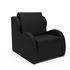 Кресло Мебель-АРС Атлант - черный кожзам - фото 1