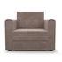 Кресло Мебель-АРС Санта (бархат серо-шоколадный) - фото 3