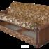 Диван ПромТрейдинг Уют 120 с пружинным блоком гобелен коричневый - фото 3
