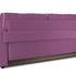 Диван ТриЯ «Оливер» (Maserati 18 (велюр) фиолетовый  кант Miami 01 (рогожка), песочный) - фото 3