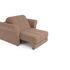 Кресло Мебель-АРС Гранд бежевый микровелюр (Luna 061) - фото 5