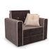 Кресло Мебель-АРС Санта (кордрой коричневый) - фото 1