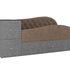 Диван ЛигаДиванов Джуниор левый 102205 рогожка коричневый/серый - фото 4