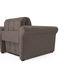 Кресло Мебель-АРС Гранд (бархат серо-шоколадный) - фото 4