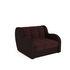 Кресло Мебель-АРС Аккордеон Барон люкс (микровелюр + экокожа) - фото 1