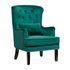 Кресло Garda Decor 24YJ-7004-07342/1 (бархатное зеленое с подушкой) - фото 2