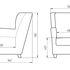 Кресло LAMA мебель Фламинго - фото 3