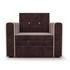 Кресло Мебель-АРС Санта (кордрой коричневый) - фото 3