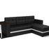Диван Мебель-АРС Атланта (экокожа черная с полоской) - фото 2