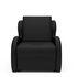 Кресло Мебель-АРС Атлант - черный кожзам - фото 2