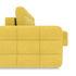 Диван ТриЯ правый «Райс Slim Т1» (Maserati 11 (велюр), желтый) - фото 5