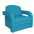 Кресло Мебель-АРС Кармен-2 синий (рогожка) - фото 1