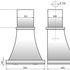 Вытяжка кухонная Elikor АР-Деко 60П-700-П3Д (слоновая кость муар/бронза) - фото 2