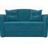 Диван Мебель-АРС Малютка №2 (бархат сине-зеленый  STAR VELVET 43 BLACK GREEN) - фото 2