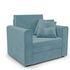 Кресло Мебель-АРС Санта (велюр голубой - Luna 089) - фото 1