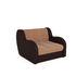 Кресло Мебель-АРС Аккордеон Барон кордрой (микровелюр + экокожа) - фото 1