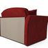 Диван Мебель-АРС Малютка №2 (бархат красный  STAR VELVET 3 DARK RED) - фото 3
