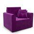 Кресло Мебель-АРС Санта фиолет (микровельвет) - фото 1