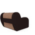Кресло Мебель-АРС Аккордеон Барон кордрой (микровелюр + экокожа) - фото 4