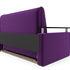 Диван Мебель-АРС Шарм — Фиолет (120х195) - фото 4