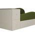 Диван ЛигаДиванов Джуниор левый 102198 микровельвет зеленый/бежевый - фото 2
