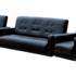 Набор мягкой мебели Луховицкая мебельная фабрика Аккорд коричневый (диван 120х190 + 2 кресла) - фото 1