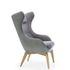 Кресло Gala Collezione Zing на деревянных ножках - фото 2