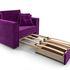 Кресло Мебель-АРС Санта фиолет (микровельвет) - фото 6