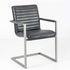 Кресло LORI Бергамо (кожзам/ткань) с подлокотниками - фото 1