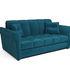 Диван Мебель-АРС Гранд (бархат сине-зеленый/STAR VELVET 43 BLACK GREEN) - фото 1