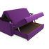 Диван Мебель-АРС Шарм — Фиолет (140х195) - фото 5