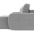 Диван ТриЯ правый «Томас Slim Т1» (Neo 07 (рогожка) светло-серый) - фото 3