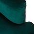Кресло Garda Decor 24YJ-7004-07342/1 (бархатное зеленое с подушкой) - фото 4