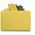 Диван ТриЯ «Раймонд» (Neo 08 (рогожка) желтый подушка Neo 04 (рогожка) светло-коричневый) - фото 5