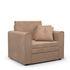 Кресло Мебель-АРС Санта (велюр бежевый - Luna 061) - фото 1