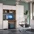 Письменный стол Калинковичский мебельный комбинат Шарм КМК 0722.15 (дуб сонома, белый глянец) - фото 2